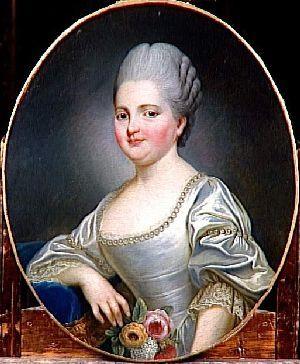Madame Clotilds, soeur de Louis XVI, mariée au prince héritier de Piémont-Sardaigne