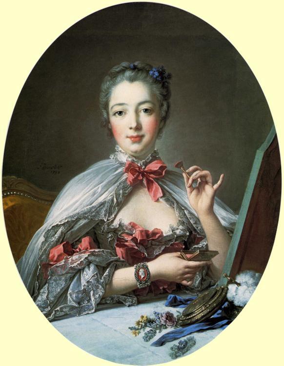 Madame de Pompadour à sa toilette par Boucher